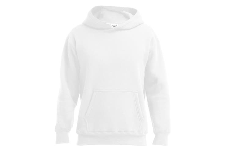 Gildan Mens Hammer Hooded Sweatshirt (White) (XS)