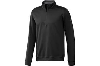 Adidas Mens Classic Club Zip Sweater (Black) - UTRW7490
