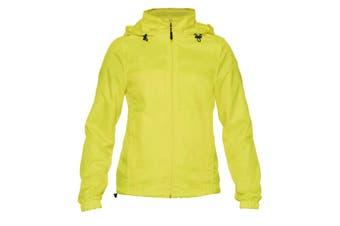 Gildan Womens/Ladies Hammer Windwear Jacket (Safety Green) (XXL)