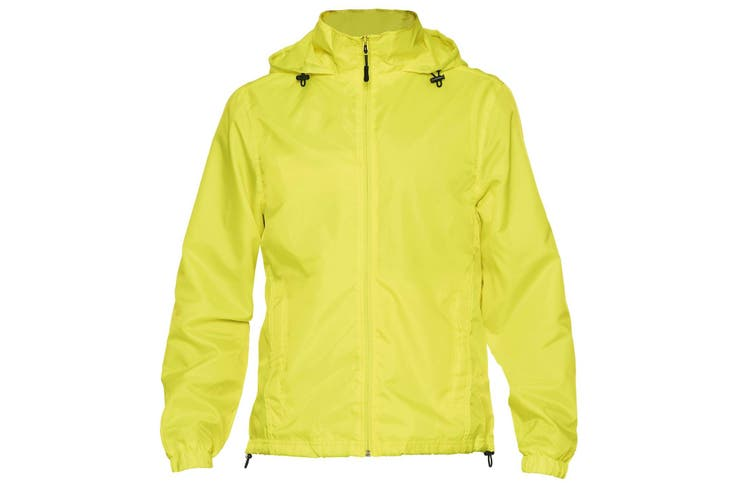Gildan Hammer Adults Unisex Windwear Jacket (Safety Green) (S)