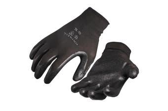 Portwest Dexti Grip Gloves (A320) / Safetywear / Workwear (Black) (L)