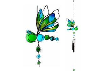 Something Different Dragonfly Wind Chime (Multicoloured) (One Size)