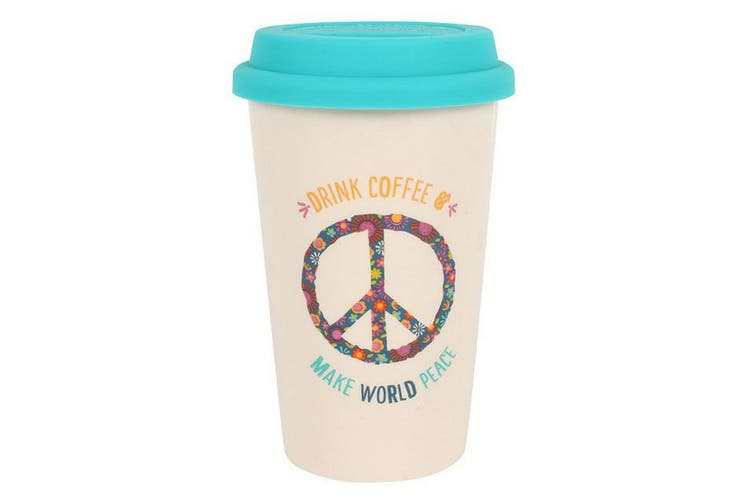 Something Different World Peace Thermal Travel Mug (Multicoloured) (One Size)