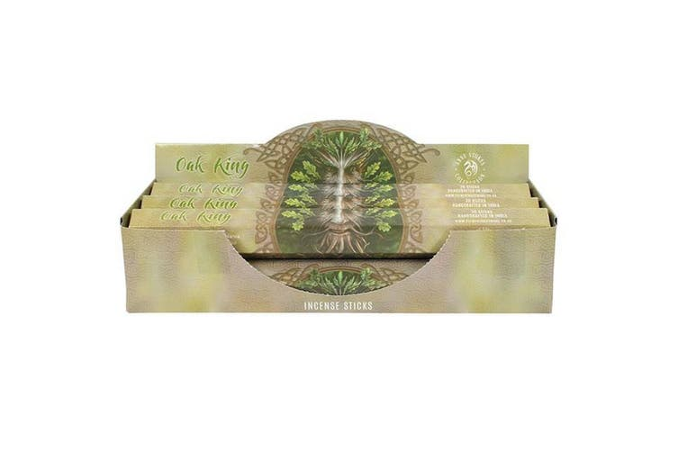 Something Different Anne Stokes Incense Stick 6 Pack Display Set Oak King (Multicolour) (One Size)