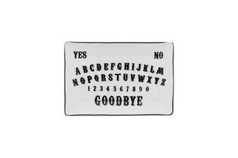 Something Different Ouija Board Trinket Dish (Black/White) (One Size)