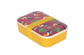 Something Different Childrens/Kids Eco Animals Toucan Bamboo Lunch Box (Multicoloured) (One Size)