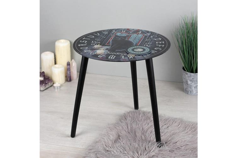 Lisa Parker Sacred Circle Glass Spirit Board Table (Multicoloured) (One Size)