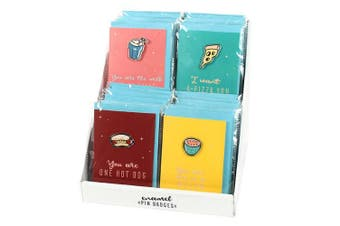 Something Different Nevada Nights Cards With Enamel Pin Badges (Set Of 32) (May Vary) (One Size)