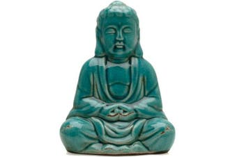 Something Different Sitting Thai Buddha Statue (Turquoise) (One Size)
