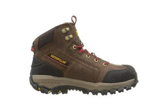 Caterpillar Mens Leather Navigator Mid S3 Safety Boot (Clay Argile) - UTSF105