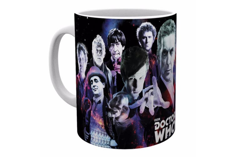 Dr Who Official Character Design Ceramic Mug (Multicoloured) (One Size)