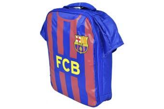 FC Barcelona Official Childrens/Kids Kit Design Lunch Bag (Red/Blue) (One Size)