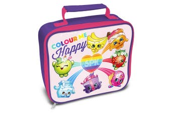 Shopkins Official Rainbow Celebration Lunch Bag (Pink) (One Size)