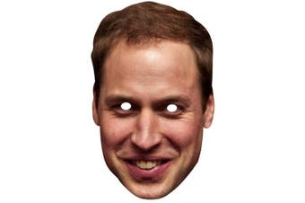 Prince William Celebrity Face Mask (Prince William) (One Size)