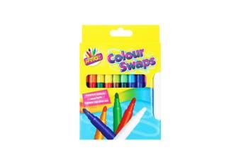 ArtBox 8 Magic Colour Swap Fibre Pens (Multicoloured) (One Size)