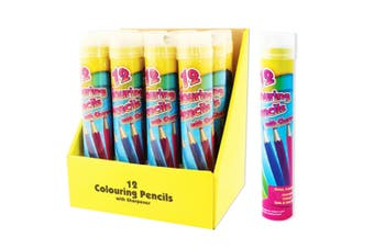 ArtBox Full Size 12 Colouring Pencils And Sharpener (Multicoloured) (One Size)