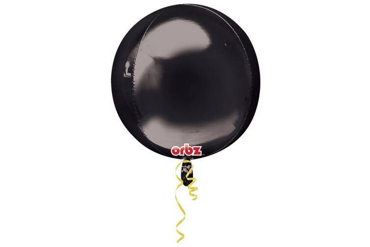 Anagram Supershape Balloon Orbz (Ombred Red/Orange) (One Size)