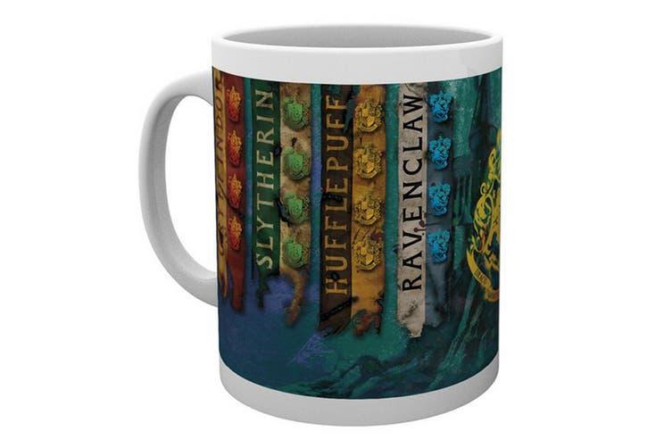 Harry Potter Ceramic Mug (House Of Flags) (One Size)