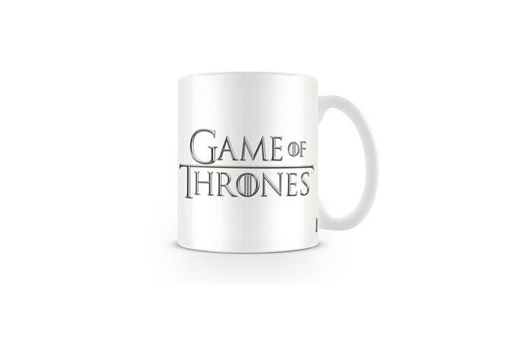 Game of Thrones Logo Mug (White/Black) (One Size)