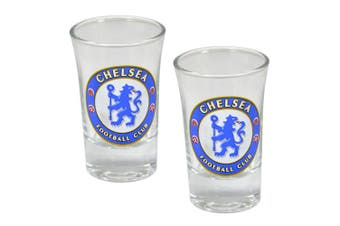 Chelsea Shot Glasses Two Pack (Multicolour) (One Size)