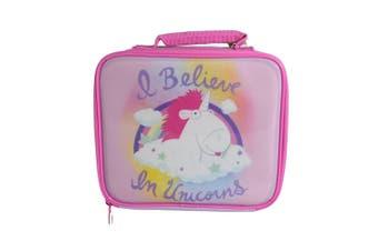 Unicorn Kids Rectangle Lunch Bag (Multicolour) (One Size)