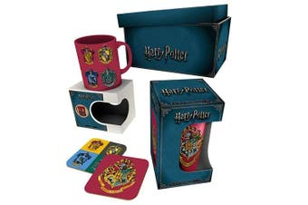 Harry Potter Crests Gift Box (Multicolour) (One Size)