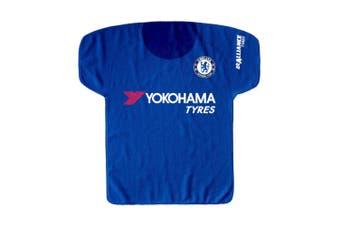 Chelsea Kit Shaped Multi Purpose Towel (Blue/White) (56 x 58cm)