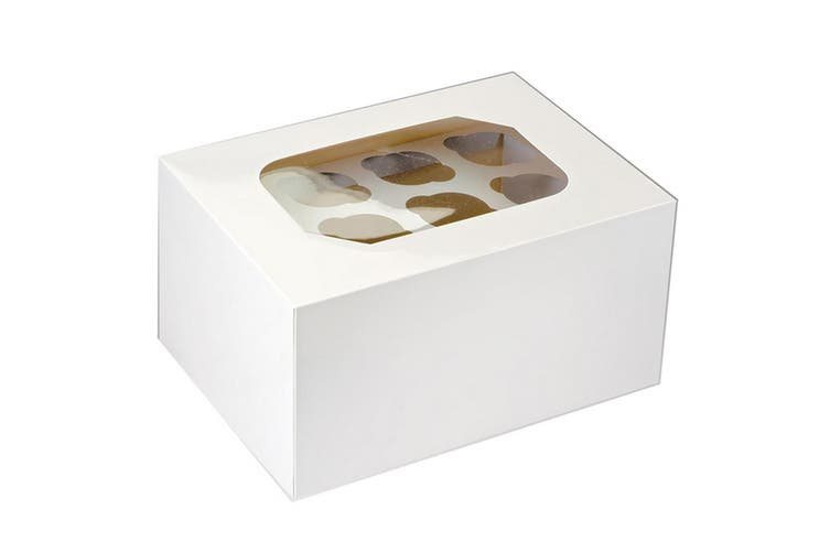 Club Green 24 Muffin Box (White) (32.5 x 24 x 17.5cm)