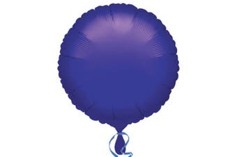 Anagram 18in Round Foil Balloon (Pack Of 10) (Purple) (18in)