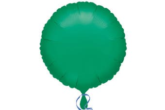 Anagram 18in Round Foil Balloon (Pack Of 10) (Green) (18in)