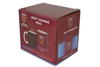 West Ham Gradient Heat Changing 11oz Mug (Multicoloured) (One Size)