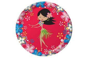 Creative Converting Lets Hula 9 Inch Plates (Pack of 8) (Multicoloured) (One Size)