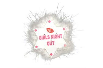 Alandra Girls Night Out Flashing Brooch (Star Lips) (One Size)