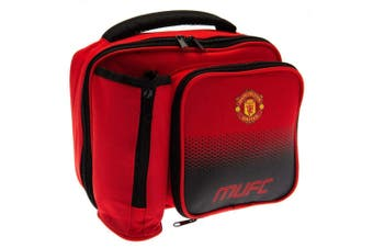 Manchester United FC Fade Lunch Bag (Red) (One Size)