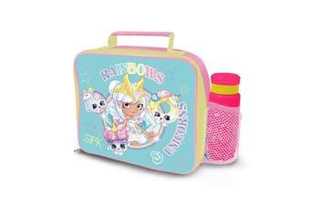 Shopkins Lenticular Lunch Bag and Bottle Set (Multicoloured) (One Size)