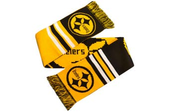 Pittsburgh Steelers Logo Scarf (Yellow/Black) (One Size)