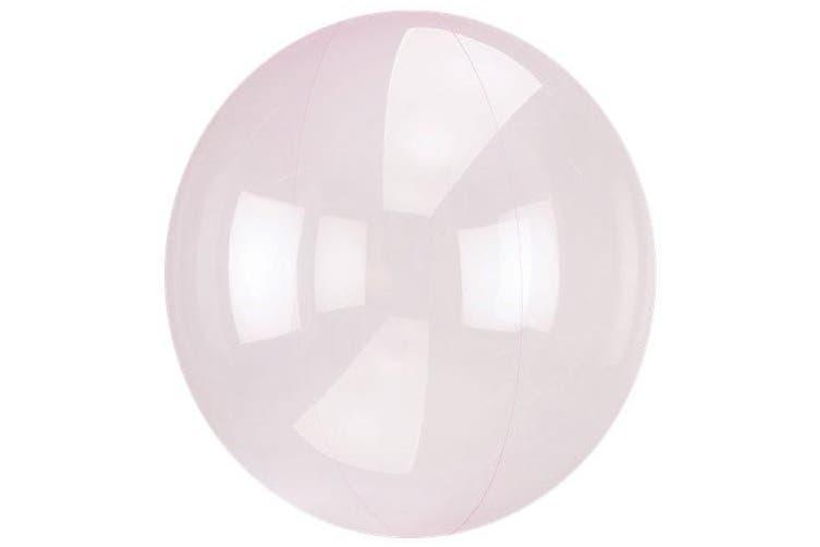 Anagram Sempertex 18 Inch Circle Foil Balloon (Dark Pink) (One Size)