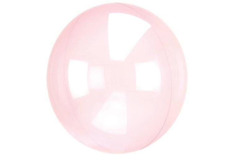 Anagram Sempertex 18 Inch Circle Foil Balloon (Light Pink) (One Size)