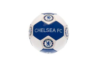 Chelsea FC Size 3 Football (Blue/White) (One Size)