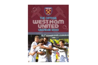 West Ham United 2020 Official Wall Calendar (Purple) (One Size)