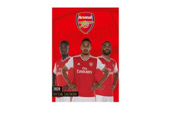 Arsenal 2020 Official Wall Calendar (Red) (One Size)