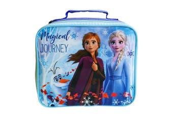 Frozen 2 Childrens/ Kids Rectangular Lunch Bag (Blue) (One Size)