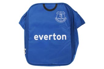 Everton FC Childrens Boys Official Insulated Football Shirt Lunch Bag/Cooler (Blue) (One Size)