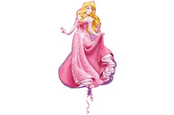 Disney Princess Supershape Sleeping Beauty Foil Balloon (Pink) (One Size)