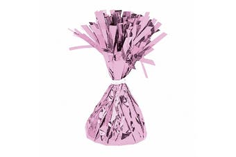 Amscan Foil Tassel Balloon Weight (Pink) (One Size)