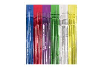 Amscan Foil Door Curtain (Multicoloured) (One Size)