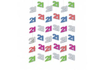 Amscan 21 String Decoration (Multicoloured) (One Size)