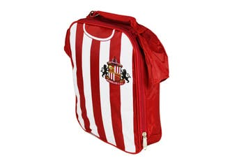 Sunderland AFC Official Football Kit Lunch Bag (Red/White) (One Size)