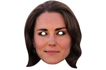 Star Cutouts Duchess Of Cambridge Kate Celebrity Face Mask (Multicoloured) (One Size)