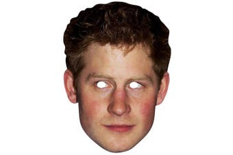 Star Cutouts Prince Harry Celebrity Face Mask (Multicoloured) (One Size)